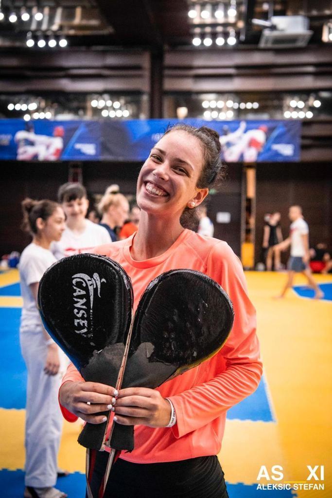 Tijana Bogdanović; Vice champion of olympic games in Rio;  member of Serbian national team